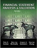 Financial Statement Analysis and Valuation, Easton, Peter and McAnally, Mary Lea, 1618530097