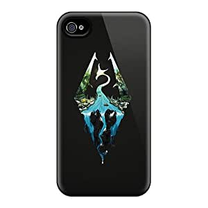 Shock Absorbent Hard Phone Covers For Iphone 6 With Support Your Personal Customized Realistic Skyrim Artwork Image Cases-best-covers