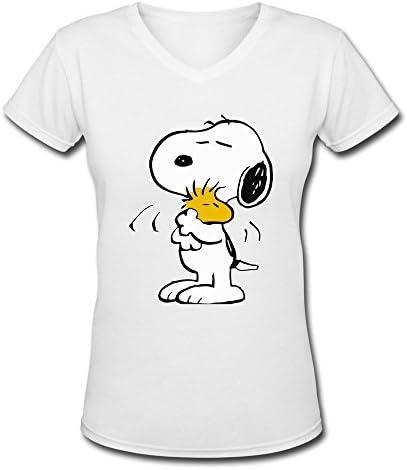 Camiseta para mujer Snoopy La Chicas son Confusas