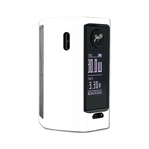 MightySkins Skin for Wismec Reuleaux RX Mini – Solid White | Protective, Durable, and Unique Vinyl Decal wrap Cover | Easy to Apply, Remove, and Change Styles | Made in The USA from MightySkins