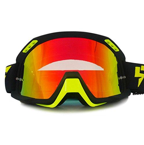 de para los para Viento NEGRO de Ojos de Prueba UV Explosiones Casco Terreno Protección Prueba Polvo Protección PC Prueba Gafas a a Todo Motocross a Oq5nYC