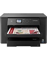 Epson WorkForce WF-7310DTWF Business inkjetprinter (gedrukt tot DIN A3+, WiFi, Ethernet, NFC, Duplex, afzonderlijke patronen, DIN A3, 2 papiercassettes, Amazon Dash Replenishment-compatibel) zwart