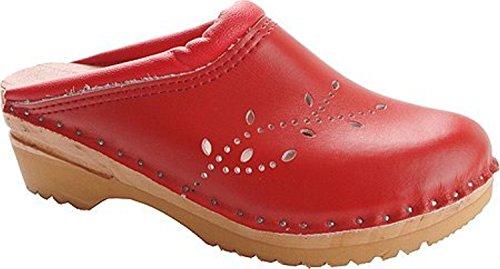 Women's O'keefe Troentorp Troentorp Red Clogs Women's STxw0vqa