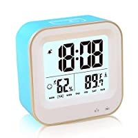 FAMICOZY Rechargeable Square Clock