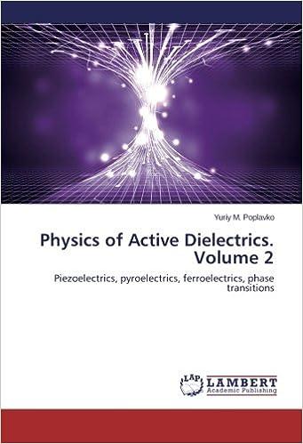 Physics of Active Dielectrics  Volume 2: Piezoelectrics