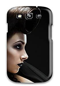 Hot Funny Woman Hairstyle First Grade PC Phone Case For Galaxy S3 Case Cover BY icecream design