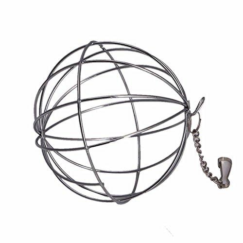 Pop Sphere Treat Ball Guinea Pig Hamster Rat Rabbit Feed Dispenser Ball Toy