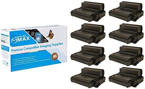 SuppliesMAX Compatible Replacement for Samsung ProXpress M3820//3870//4020//4070 Extra High Yield Toner Cartridge 8//PK-10000 Page Yield MLT-D203E/_8PK