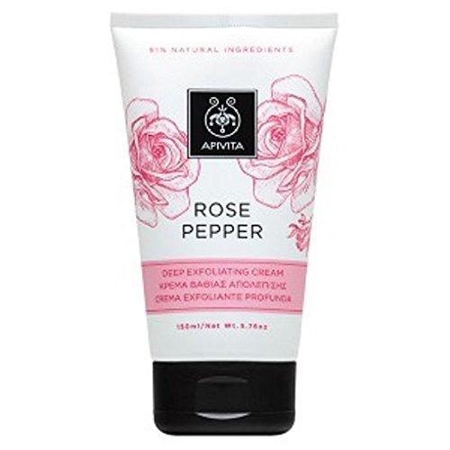 (Apivita Rose Pepper Deep Exfoliating Cream 150ml/5.76oz)