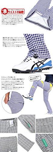【コモンゴルフ】 COMON GOLF メンズ 美脚 ストレッチ スリット入り ゴルフ パンツ CG-31042