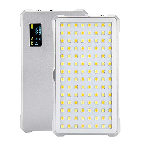 DP-iot 112 LED Dimmable Video Light Lamp Rechargable Panal Light for DSLR Camera Videolight Wedding Recording Vocal Concert Portable