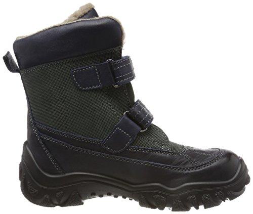 Bisgaard Unisex-Kinder Tex Stiefel Schneestiefel Blau (21 Navy)