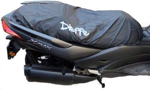 pour Peugeot KISBEE 50 2T Couverture DE Selle IMPERM/ÉABLE avec Doublure Housse Taille M 93X65CM DIEFFE Universel en PVC Pluie Scooter Motocyclette