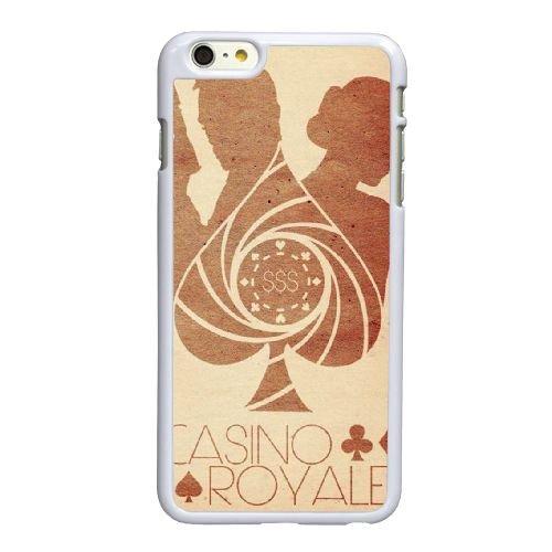 X0P44 James Bond Q9R8BF coque iPhone 6 Plus de 5,5 pouces cas de couverture de téléphone portable coque blanche FM4IQE7YT
