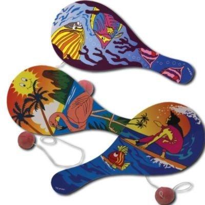 Luau Paddle Balls (1 Dozen) - Bulk by US: Amazon.es: Juguetes y juegos