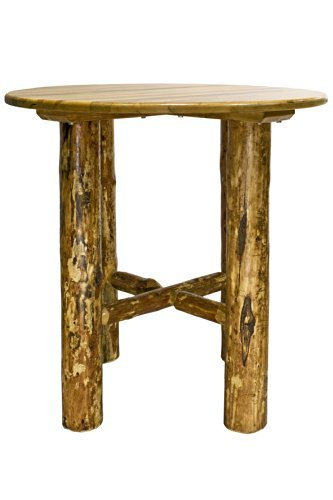Montana Woodworks MWGCBT-ROUND Glacier Country Collection Bistro Table, Round Table Top by Montana Woodworks (Image #1)