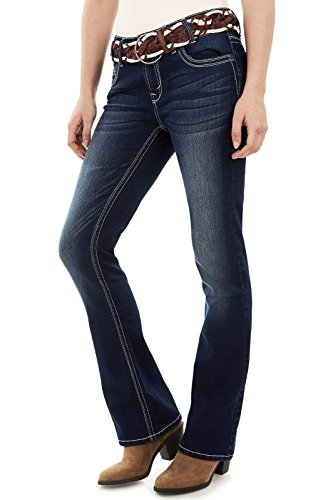 Juniors Belted Jeans - 3