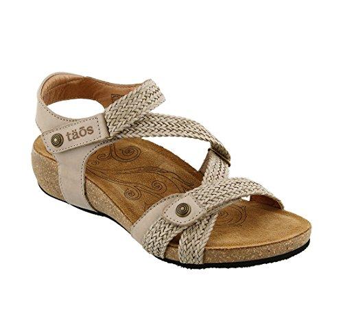 Sandal Footwear Sandals - Taos Women's Trulie Wedge Sandal,Stone,39 EU/8-8.5 M US