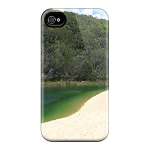 Tpu Shockproof/dirt-proof Fraser Isl Beach Cover Case For Iphone(4/4s)