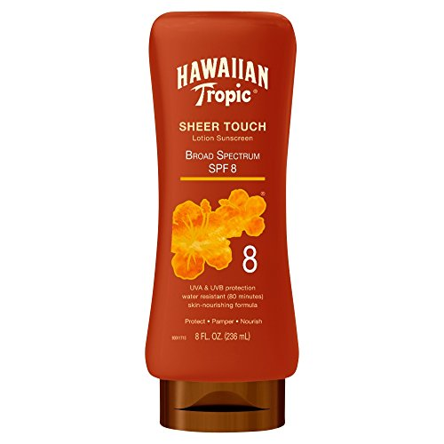Hawaiian Tropic Sheer Touch Lotion Sunscreen, SPF 8 8 oz