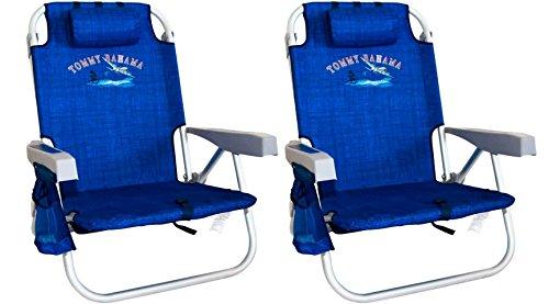 Tommy Bahama The Big Kahuna Beach Chair Blue Print