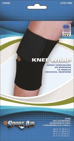 Scott Specialties Sport-Aid Knee Sleeve - SA9086 BLA XLEA - X-Large, 1 Each / Each