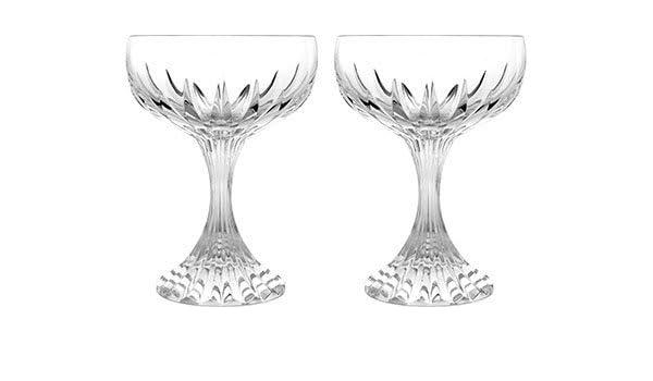 bbcedaf56ce Amazon.com | Baccarat Crystal Massena Champagne Coupe - Clear - Set ...
