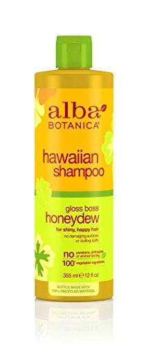 Alba Botanica Hawaiian Hair Care Honeydew Gloss Boss Shampoo