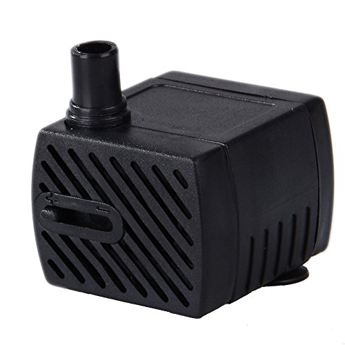 Uniclife Pet Pump Replacement For Smart Pet Fountains, 40-55 GPH Safe 12V Water Pump With 110V ()