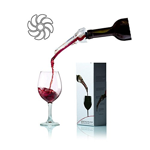 Aolvo Wine Aerator Pourer Whiskey Decanter Premium for sale  Delivered anywhere in USA