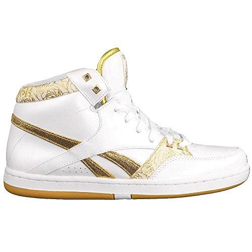 Chaussures De Mixte pure Sport White Blanc Enfant Reebok Gold adwTqa