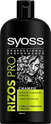 SYOSS - Champú Rizos Pro - Definición e Hidratación - 3 uds de 500ml