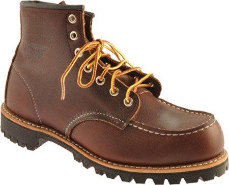 Red Wing Shoes Botas de cuero para mujer marrón marrón