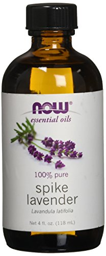 NOW Solutions Spike Lavender Essential Oil, 4-Ounce