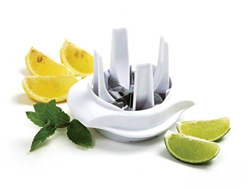 (Lemon Lime Slicer Wedger Cutter Food Drink Tea Cocktails Garnish Tool)