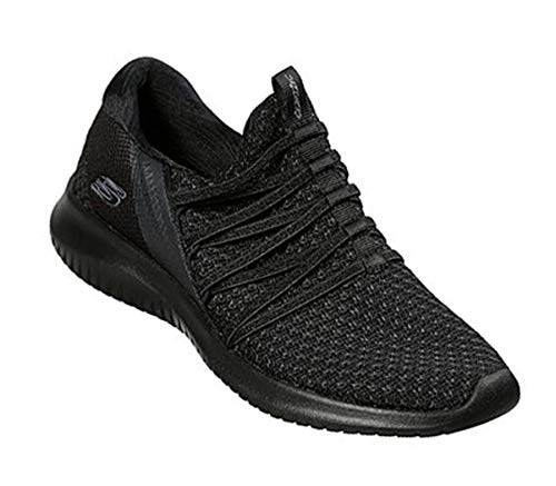 Ultra flex Baskets Skechers Brillant Schwarz Futur Damen Eaq0gxwZA