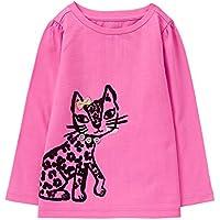 Gymboree Toddler Girls' Her Li'l Long Sleeve Graphic Tee