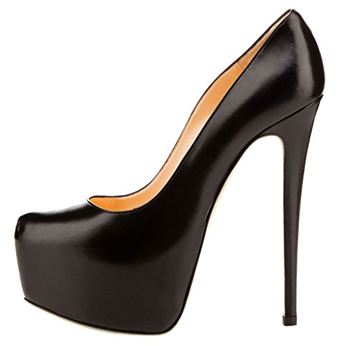 for Women's Sky Black with Heels Platform Daily MERUMOTE High Wear Out Heels Night Ladies High rqxrACnwz