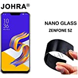 Johra® Unbreakable Nano Glass [ Better Than Tempered Glass ] Screen Protector for Asus Zenfone 5Z (ZS620KL) (Pack of 2)