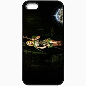 Personalized iPhone 5 5S Cell phone Case/Cover Skin Age Of Wonders Black by lolosakes