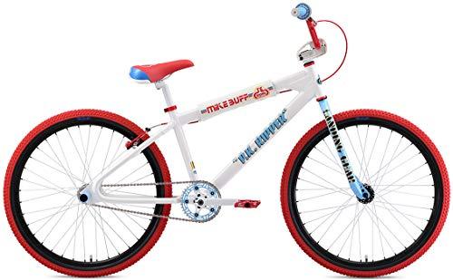 SE Mike Buff Pk Ripper Looptail 26 BMX Bike White Mens Sz 26in For Sale