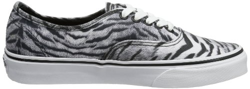 Unisex Black T BLACK U Grey Tiger TIGER T Vans Adults' AUTHENTIC Trainers gRBTnBqdW
