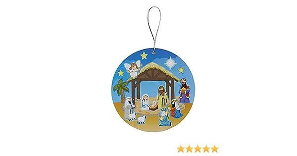 24 Pack FAVONIR Christmas Nativity Sticker Assortment Set Kids Fun and Educational Pack Adorable Sticker Sheets Craft for Stocking Stuffers Handouts.