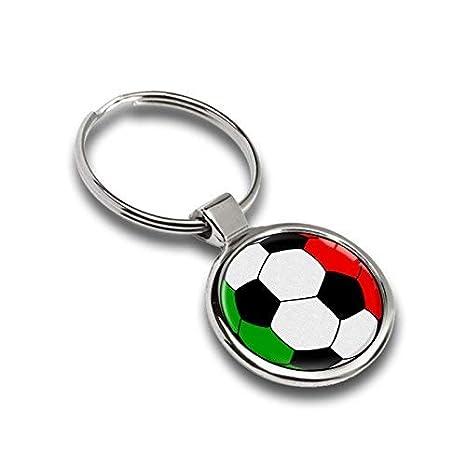 Llavero de fútbol balón Bandera italia italy metal Keyring ...