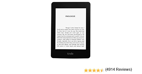 Kindle Paperwhite 3G reacondicionado certificado, pantalla de alta ...