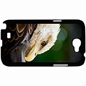 New Style Customized Back Cover Case For Samsung Galaxy Note 2 Hardshell Case, Back Cover Design Bald Eagle Personalized Unique Case For Samsung Note 2