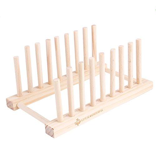 Bamboo Dish Rack Merssavo
