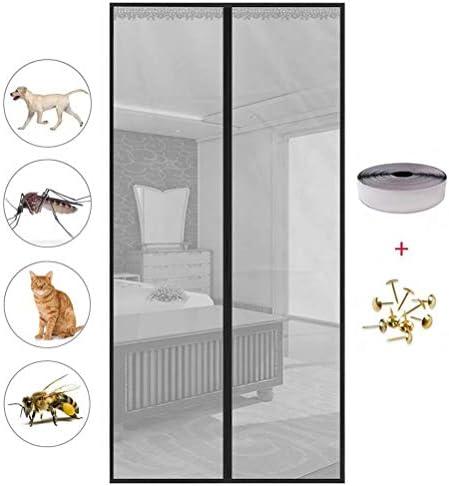 Cortina magnética, mosquitera magnética para Verano, Cierre ...