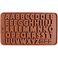 48 Alfabet Siliconen Schimmel Letters Chocolade Cake Decorating Tools Non-stick Fondant Jelly Cookies Baking Mould…