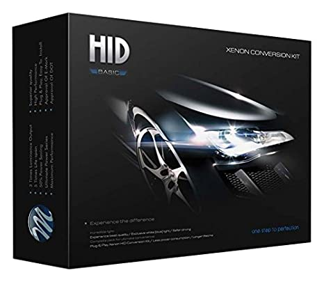 Car Rover/® H1 Canbus HID Xenon Kit Kein Fehler Dekodierungs Ballast 55W Scheinwerferlampe 6000K